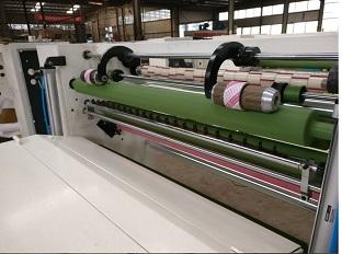 封箱胶带分切机_LD-1300B型新款胶带 分切机高配置-商丘市立达机制造有限公司